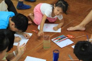 曼荼羅を描く(台湾APDEC)