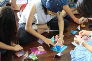 日本の文化折り紙(台湾APDEC)