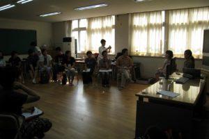 若者の生き難さを探る(韓国IDEC)